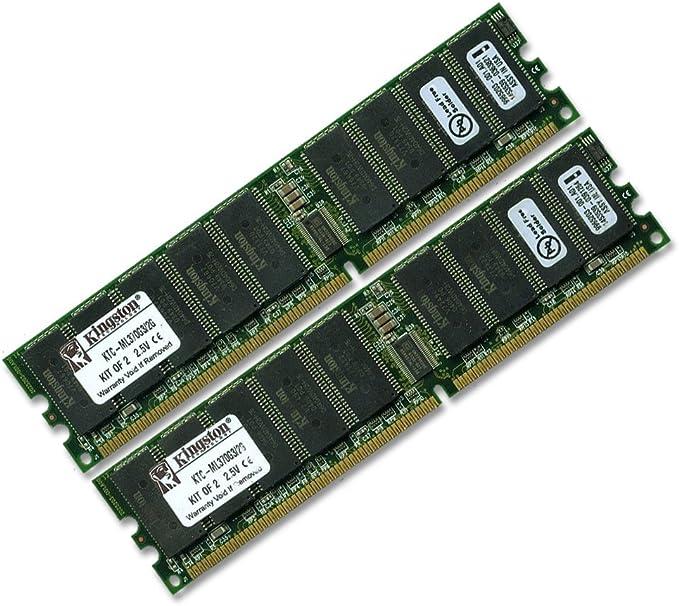 ECC Registered RAM Memory Upgrade Kit for the Gigabyte Technology GS Series GS-SR125E PC2100 1GB 2x512MB DDR-266
