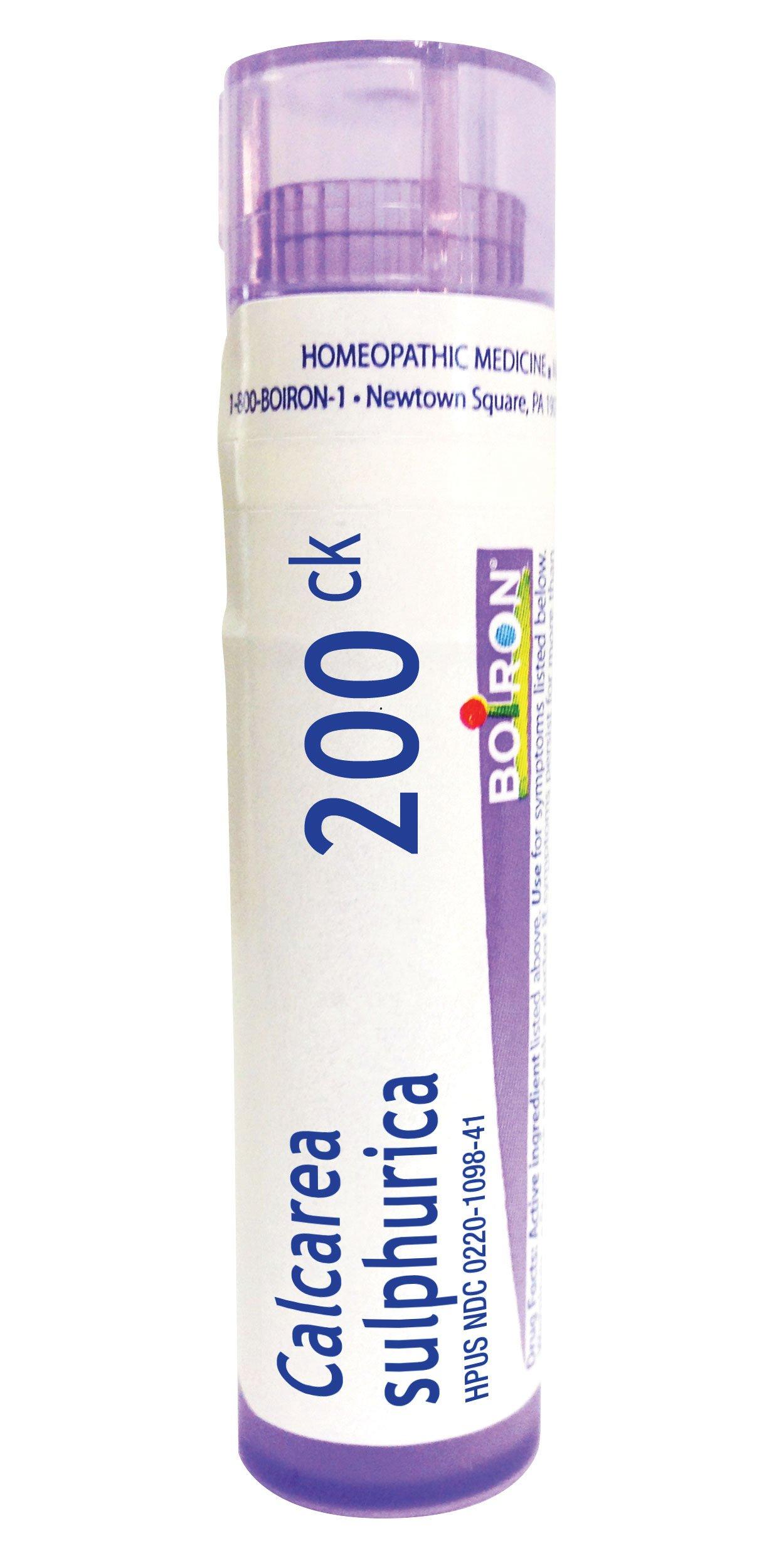 Boiron Calcarea Sulphurica 200ck, Homeopathic Medicine for Acne