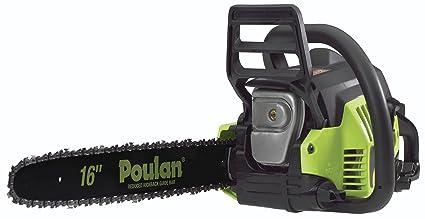 Amazon poulan 967146301 p3816 38cc fully assembled chainsaw poulan 967146301 p3816 38cc fully assembled chainsaw 16 inch greentooth Choice Image