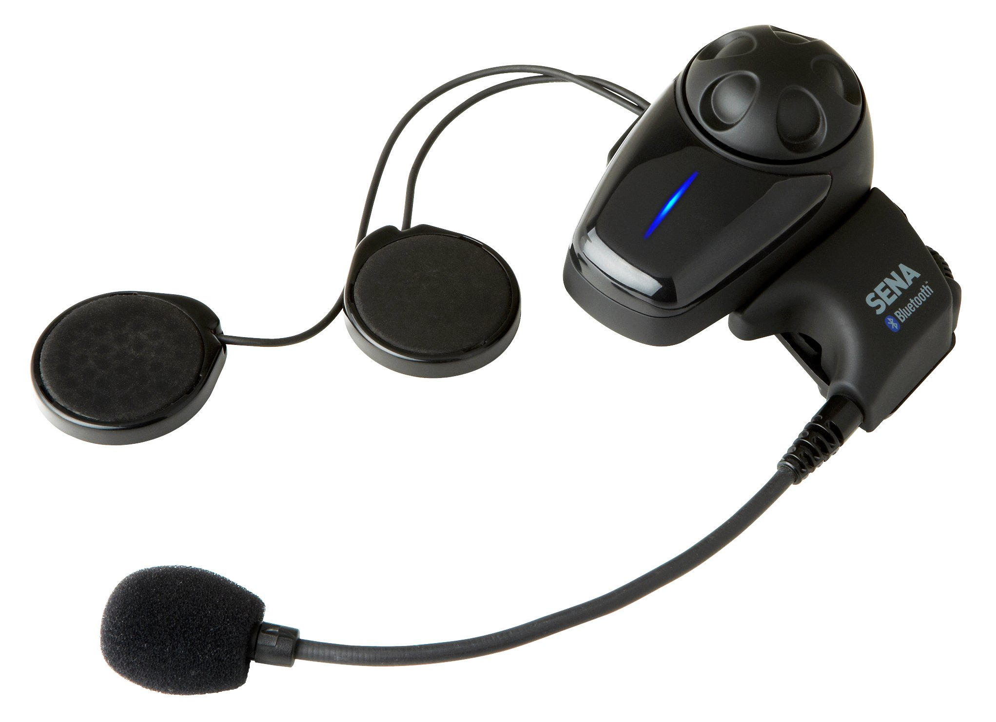 Sena SMH10-10 Motorcycle Bluetooth Headset / Intercom (Single) by Sena