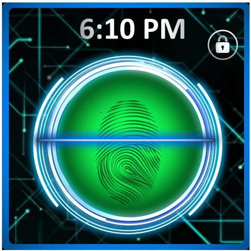 Finger Print Lock (Iphone App Store)