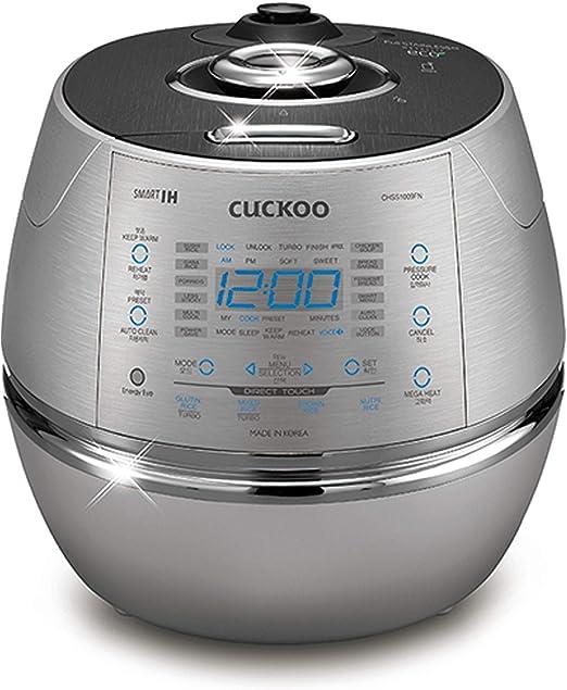 Amazon.com: Cuckoo CRP-CHSS1009FN arrocera eléctrica ...
