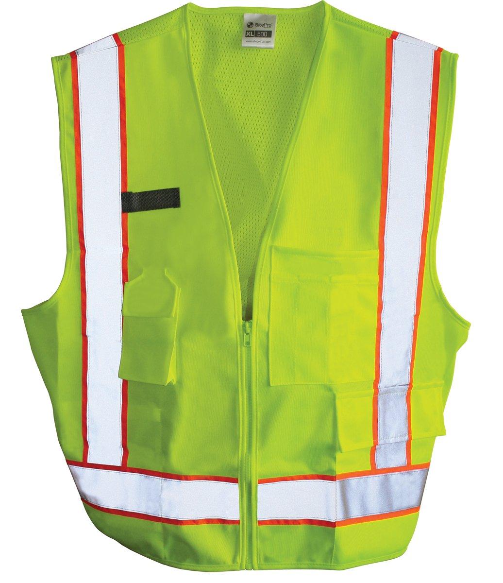 SitePro 23-500-L Class 2 Construction Safety Vest