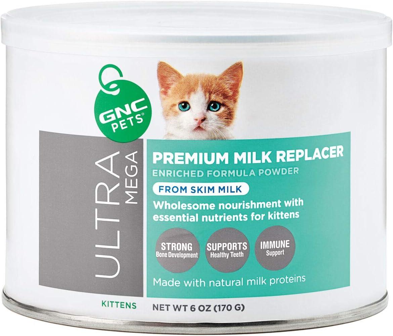 Amazon Com Gnc Pets Ultra Mega Premium Milk Replacer For Kittens Pet Supplies