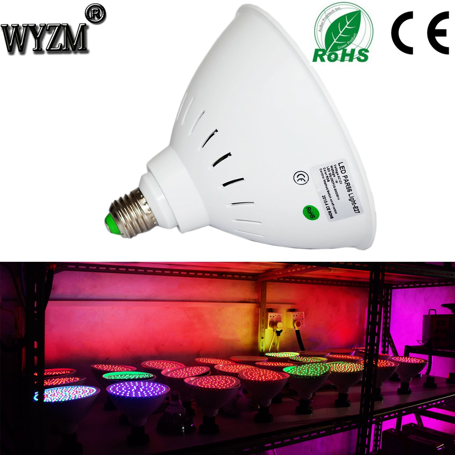 Wyzm 120v 35w Color Changing Swimming Pool Lights Led