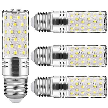 Ampoules De E27 Maïs 120w Non Blanc 6000k Équivalent 15w Ampoule Candélabre Décoratifs 4 Dimmablelot Led Lustre Froid 1500lm 4RLj35A