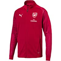 PUMA 2018/19 Arsenal FC Stadium Jacket with Sponsor Logo