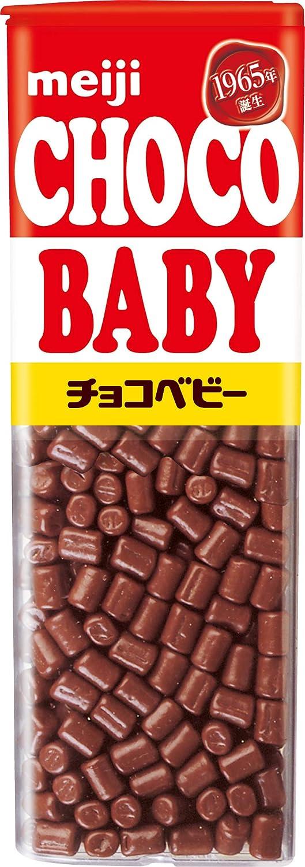 Six Meiji chocolate baby jumbo 102g ~