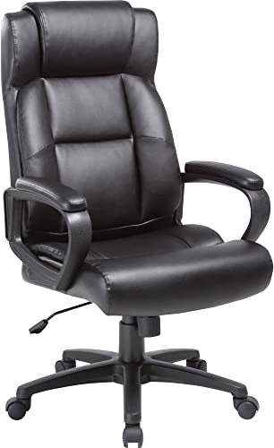 Lorell Soho High-Back Leather Executive Chair