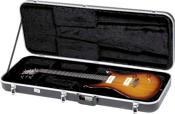GATOR GC-ELECTRIC-A - Estuche para guitarra eléctrica (interior moldeado), color negro: Amazon.es: Instrumentos musicales