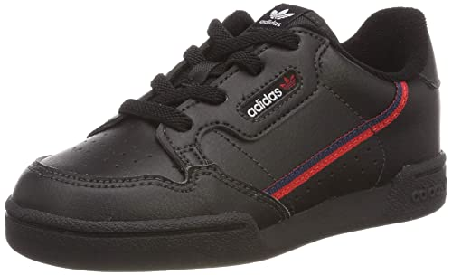 finest selection 477aa 1d466 adidas Continental 80 i Sneaker Unisex Bimbo, Nero Core  BlackScarletCollegiate Navy