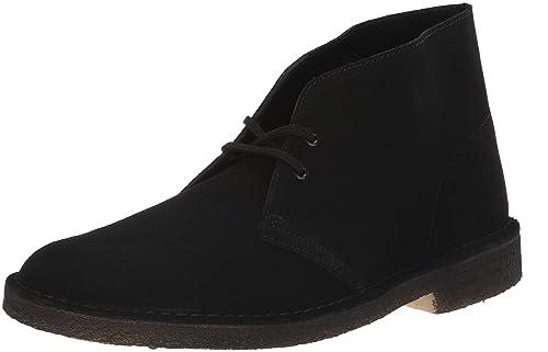 a202db7d8 Clarks Men's Desert Chukka Boot Black Suede 11 UK: Amazon.co.uk ...