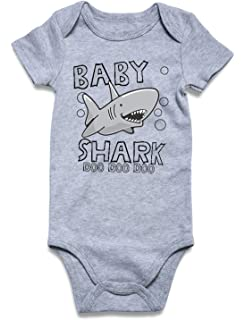 38b54903d458 Cutemefy Baby Boys Girls Bodysuit Funny Infant Romper Jumpsuit Short Sleeve  Outfit Summer Clothes (Size