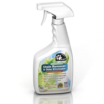 Ruff Natural Basada En La Planta Pet quitamanchas y olor Eliminator para alfombras y suelos duros ...