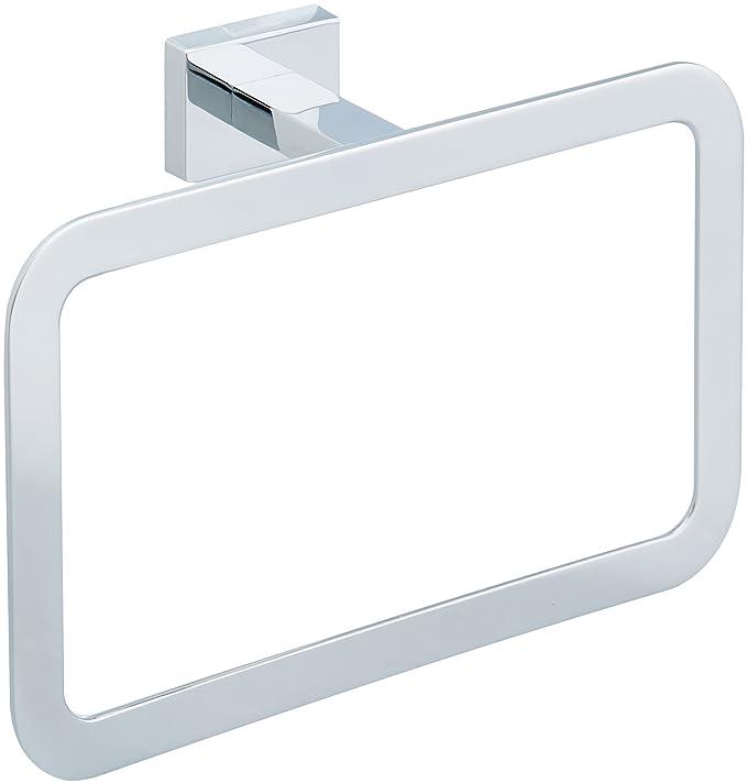 AmazonBasics - Toallero de anilla de diseño europeo, acabado ...