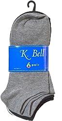 5ba1942bfe0dc K. Bell Socks Women's 6 Pack Fashion No Show Liner Socks