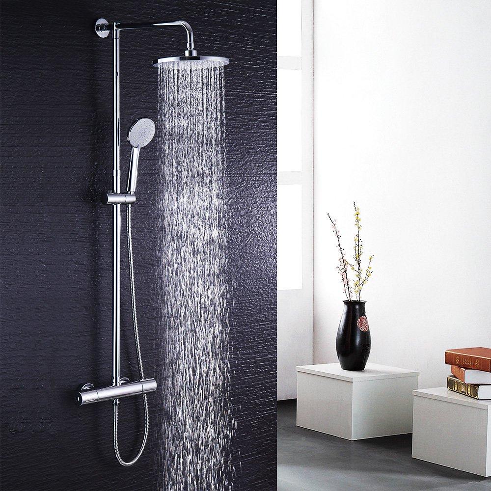 Hausbath BT017temperatura miscelatore doccia set soffione per doccia set doccia cromato bagno termostatico doccia combinata Weisheit