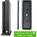 YOUSHARES Vertical Stand Exclusively for Xbox One X – Vertical Room Saver with Cooling Vents and Non Slip Pad for Xbox One X Entertainment Console