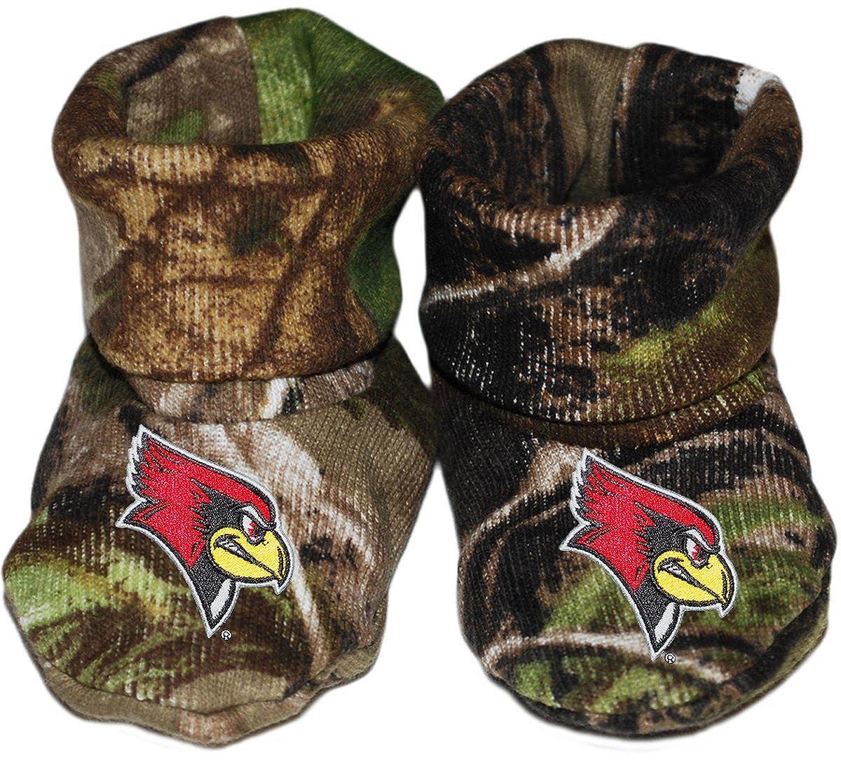 Illinois State University Redbirds Newborn Baby Bootie Sock
