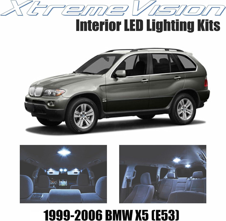 BMW X5 E53 FULL LED Interior Lights KIT 21 pcs SMD Bulbs Blue GR
