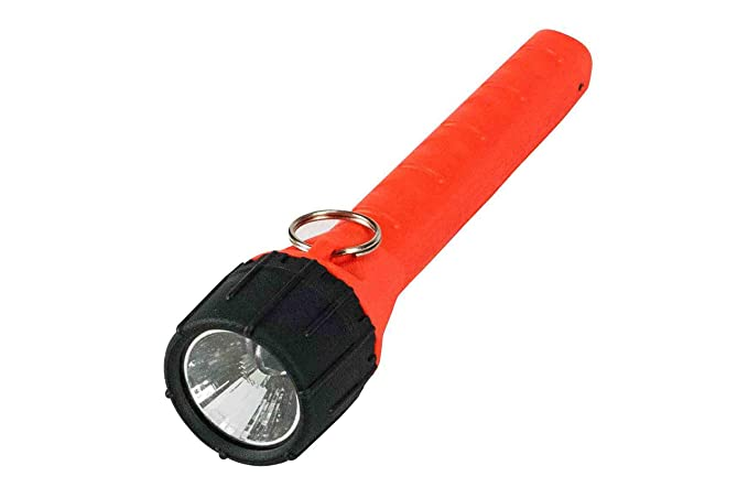 Explosion Proof Halogen Flashlight - Runs off 2 AA Batteries - Class I, Div. I - Submersible to 100 - Basic Handheld Flashlights - Amazon.com