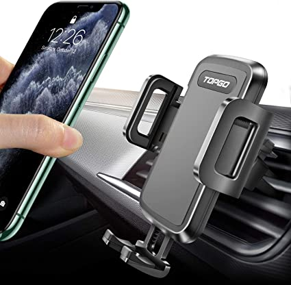 s Magnetic Car Air Vent Mount Holder for iPhone 7 Plus//6s//6s Plus//Samsung s6//s7 edge and other smart phones-Silver