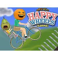 Clip: Annoying Orange Let's Play - Happy Wheels (Gaming)