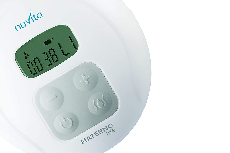 incl.150 ml Mimic Flasche BPA FREI EU Marke Nuvita 1286M Elektrische Milchpumpe Materno Life 2+1 Anti Muttermilch Stau Saugphasen Funktion 0/% R/ückfluss Garantie 5 Abpumpen intensit/äts Stufen