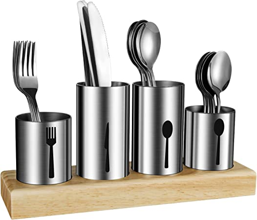 Amazon.com: HabiLife - Soporte para utensilios de cocina, de ...