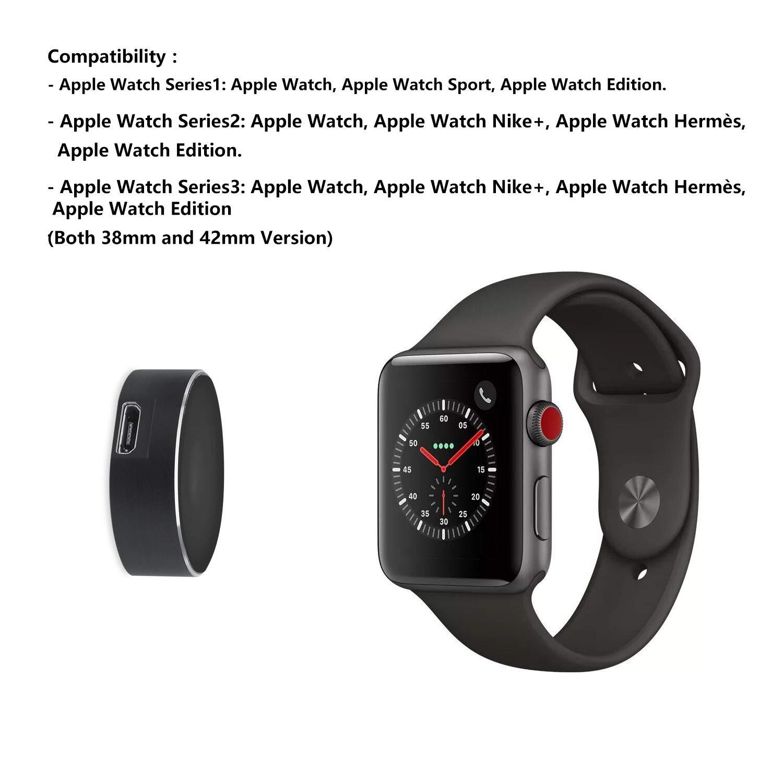 ZUZU Cargador de Reloj de Apple, IWatch Carga Mirco USB ...