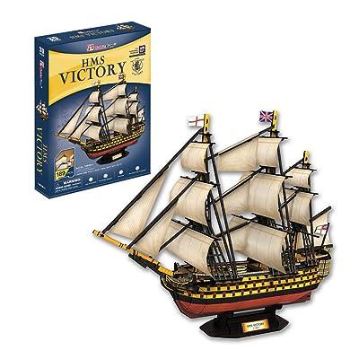 CubicFun T4019h HMS Victory Puzzle, 189 Pieces