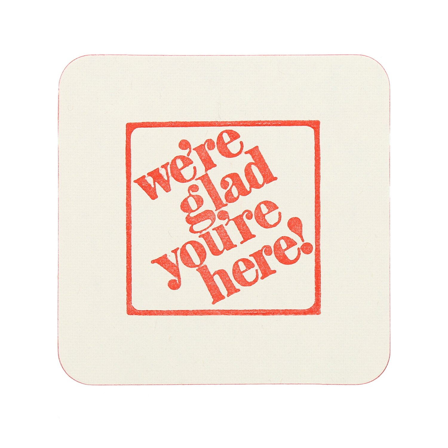 Royal 45 Point Beer Coasters, Square NRA Design, Package of 800