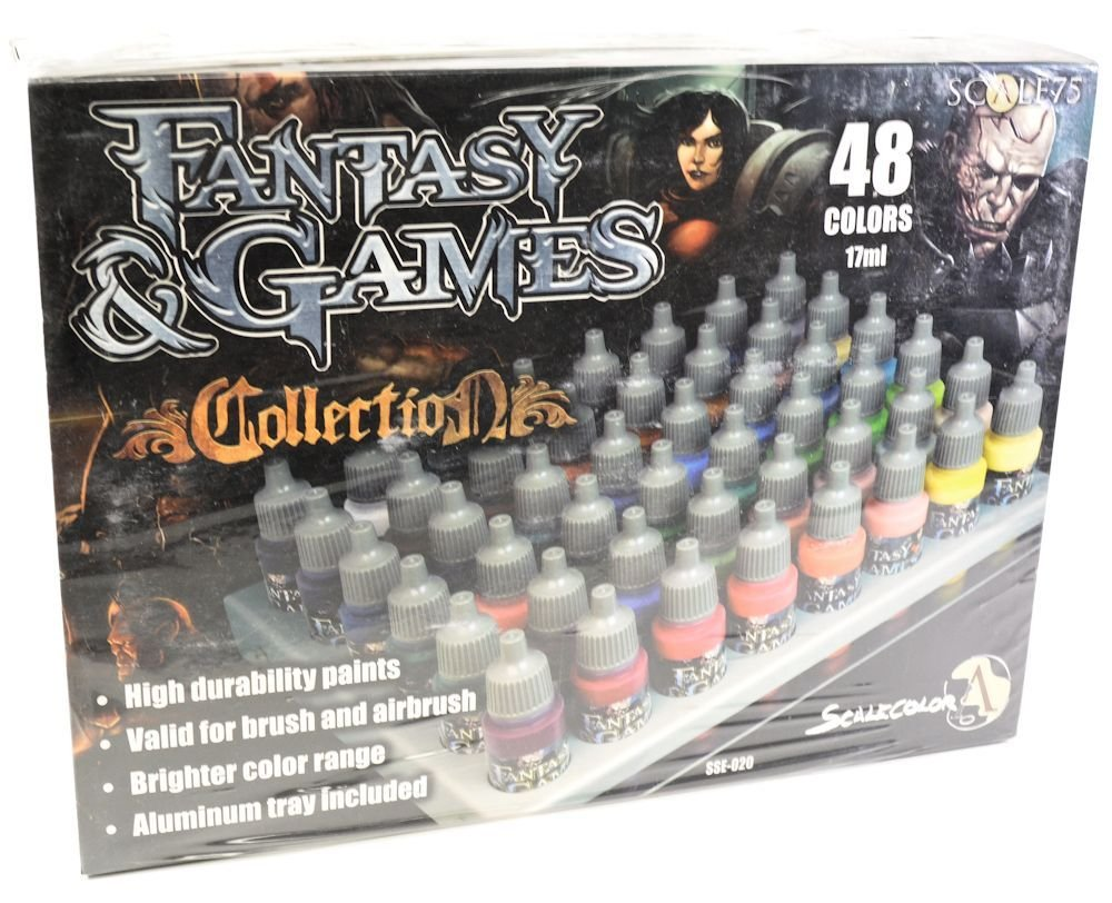 Scale 75 Fantasy & Games Collection Complete Paint Set