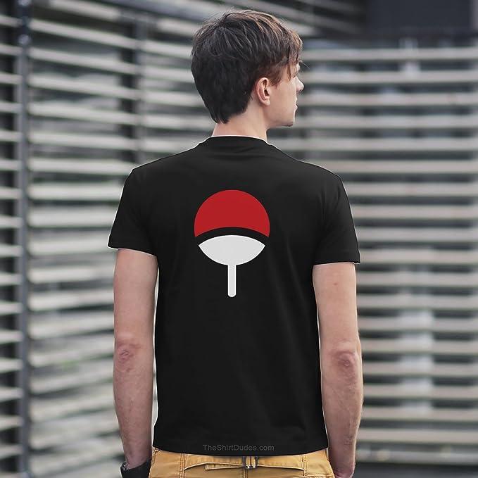 TheShirtDudes Uchiha Clan – Camiseta para adulto de Naruto ...