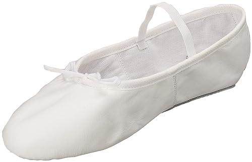 comprar baratas recogido compra especial Miguelito Ballet Balerinas en Piel Unisex para Adultos, Color Blanco