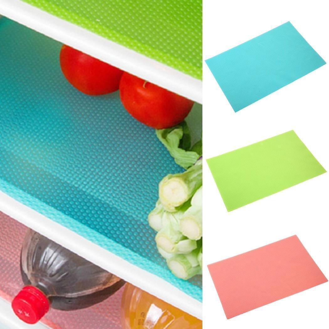Home Kitchen Refrigerator Mats Fridge Antibacterial Antifouling Mildew Moisture Absorption Pad Eroihe