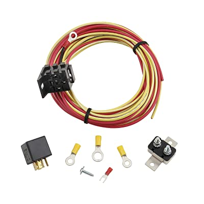 Mr. Gasket 40H Relay and Wiring Kit for 40 Amp Electric Fuel Pump: Automotive