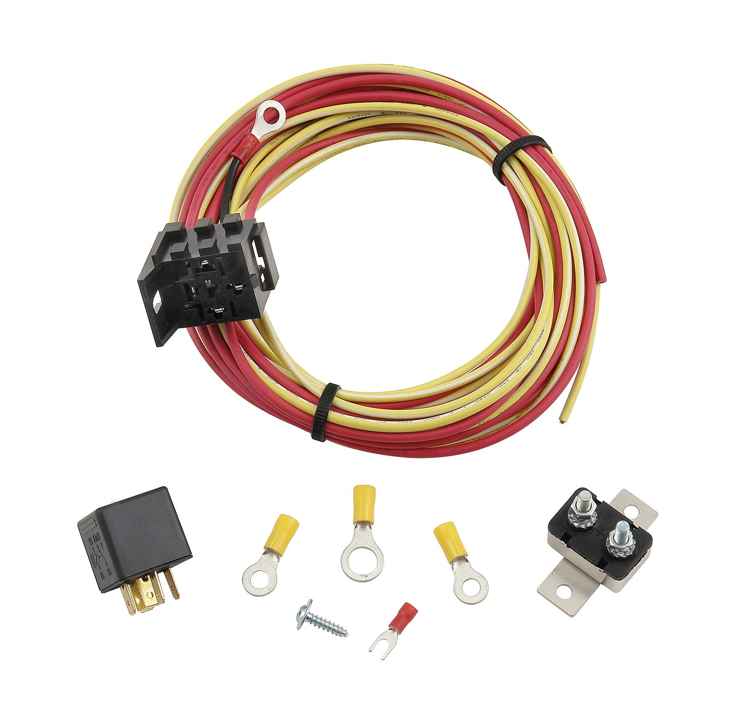 Mr. Gasket 40H Relay and Wiring Kit for 40 Amp Electric Fuel Pump by Mr. Gasket