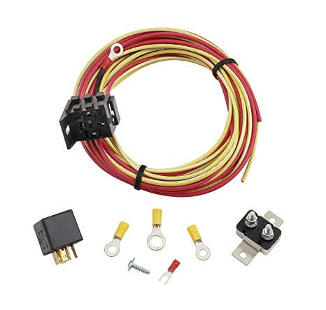 amazon com: mr  gasket 40h relay and wiring kit for 40 amp electric fuel  pump: automotive