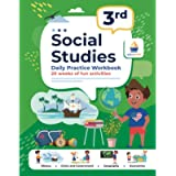 3rd Grade Social Studies: Daily Practice Workbook | 20 Weeks of Fun Activities | History | Civic and Government…