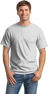 Magliette da uomo girocollo classiche da uomo Tee -HN5280BLKWHT, bianche / nere, larghe