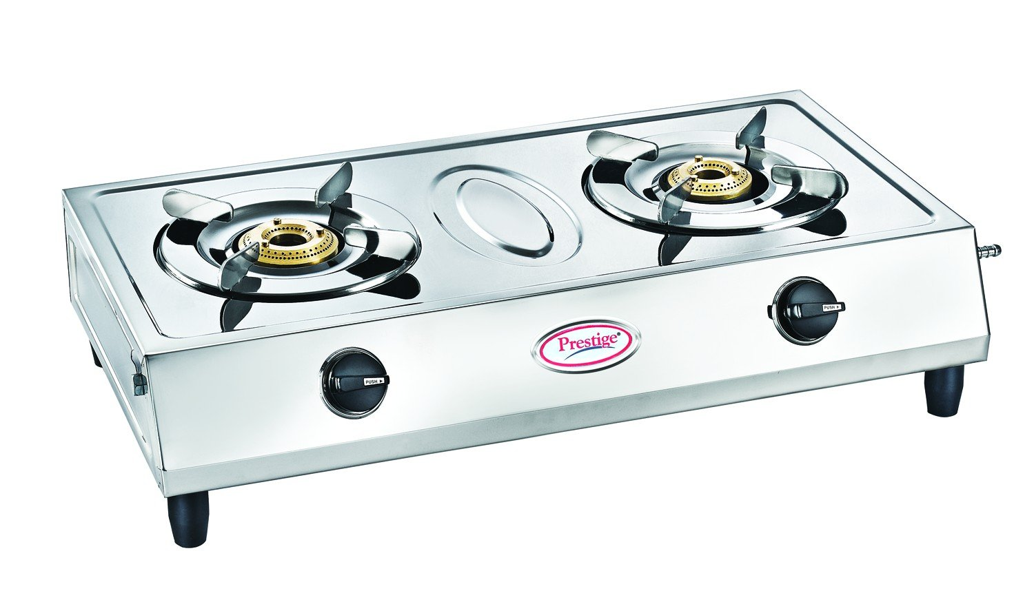 90 Gas Stove Stainless Steel Ideale Graacio Tiano