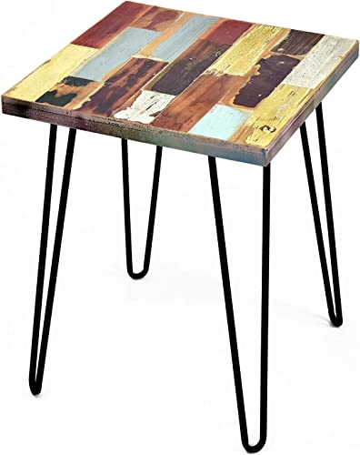 WELLAND Side Table Reclaimed Wood