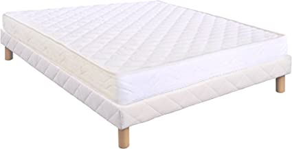 Conjunto somier + colchón de 15 cm; 140 x 190 cm