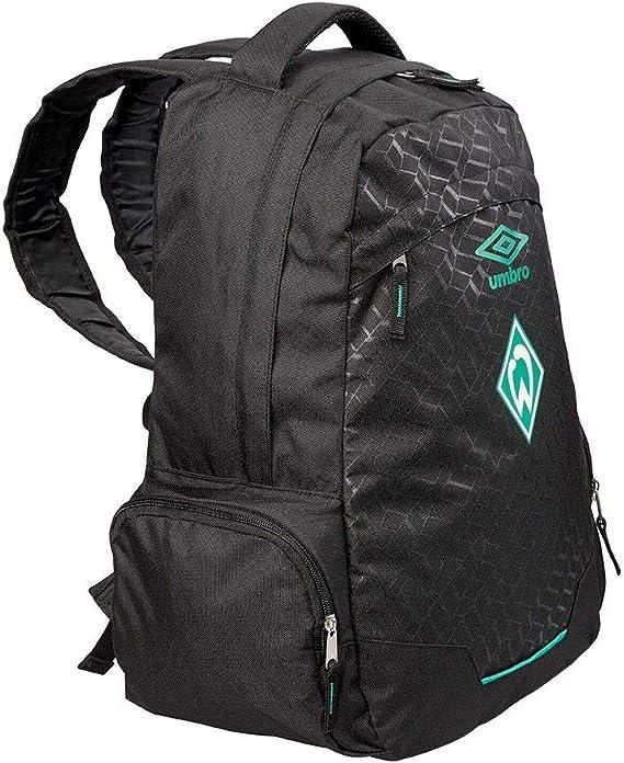 Raute schwarz Sportrucksack Plus Lesezeichen I Love Bremen SV Werder Bremen Rucksack Backpack