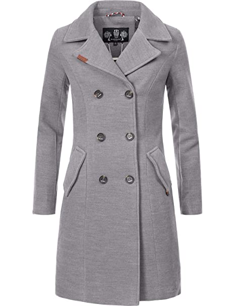 bottone con doppia asola giacca donna