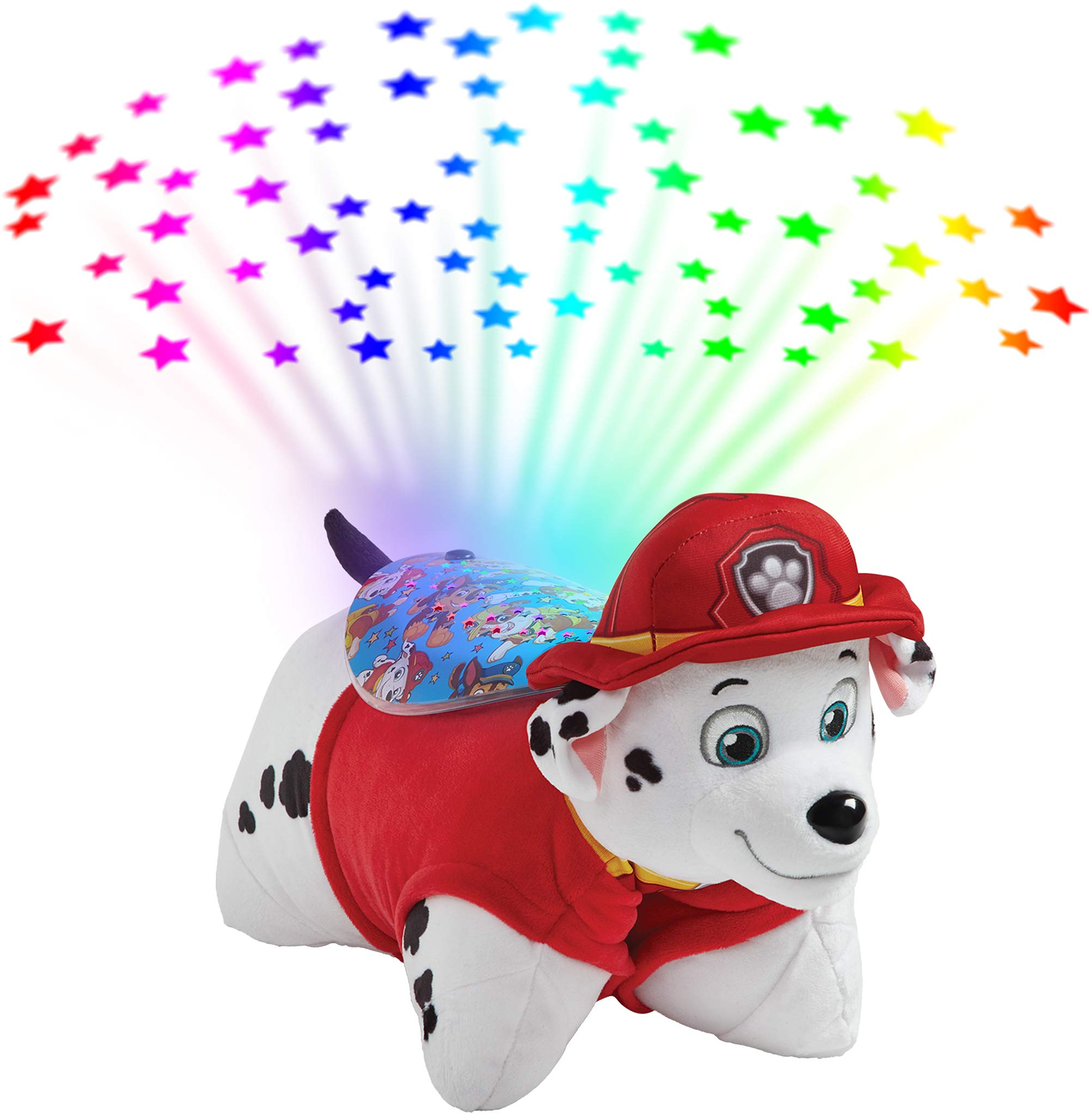 Pillow Pets Paw Patrol Marshall Sleeptime Lites - Marshall Plush Night Light