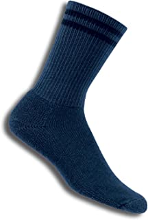 product image for Thorlos Men's / Women's Postal Crew Socks, Pair,Blue,Medium