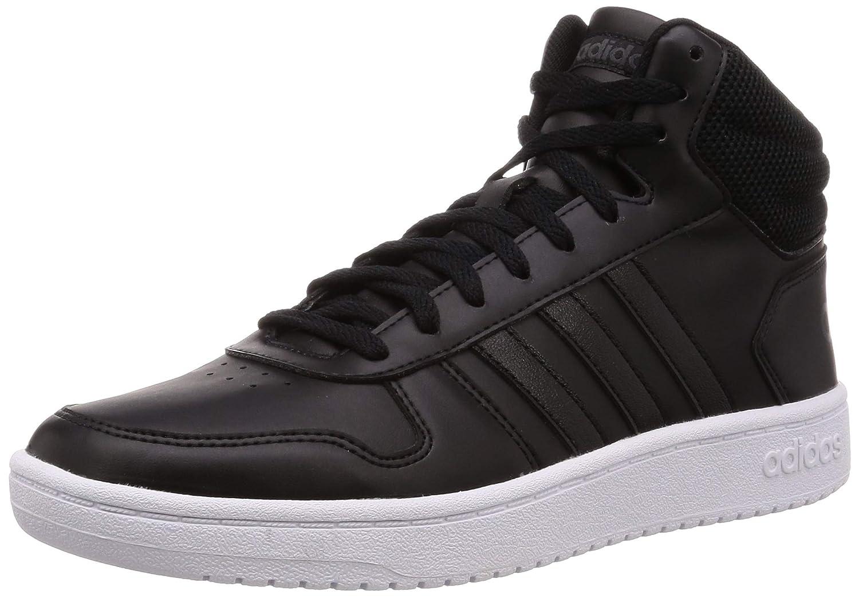 Noir (Negbás Negbás Carbon 000) adidas Hoops 2.0 Mid, Chaussures de Fitness Femme 39 1 3 EU