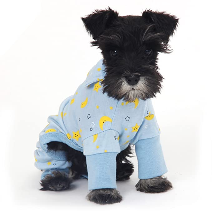 Ropa para perros Pijamas suaves y cálidos para mascotas Perrito transpirable Ropa para gatos Mono,